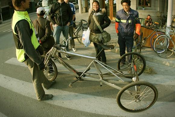 Как сделать 3-х велосипед для взрослых