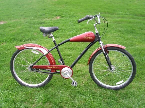 Велосипед харлей своими руками
