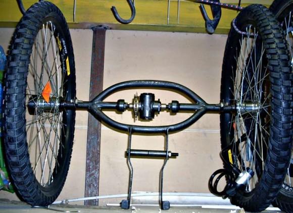 Дифференциал на велосипед