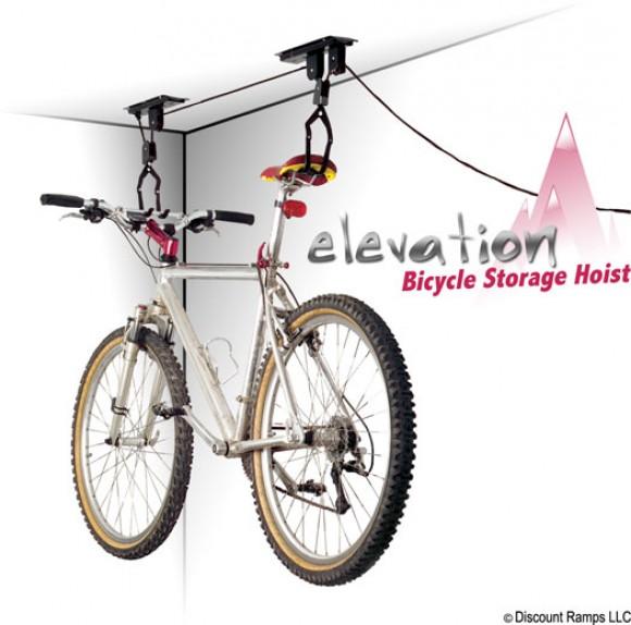 Вешаем велосипед к потолку