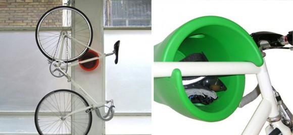 Как хранить велосипед в тесной квартире