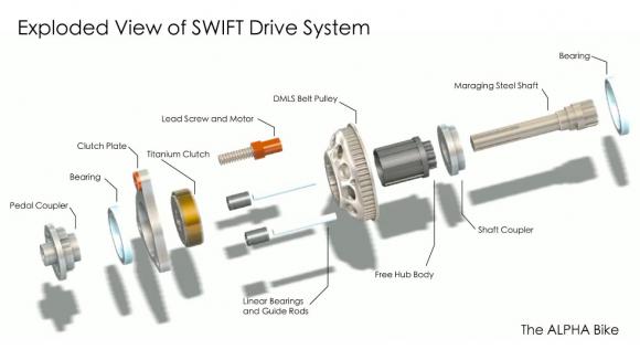 Фиксед с кучей электроники Swift-exploded-view