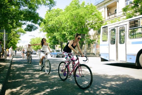 1-й Севастопольский велопарад девушек  Z_35f41a1e