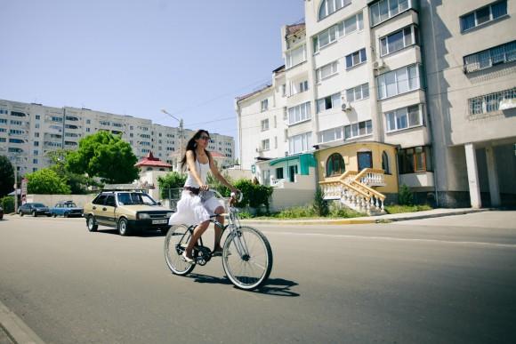 1-й Севастопольский велопарад девушек  Z_456e6132